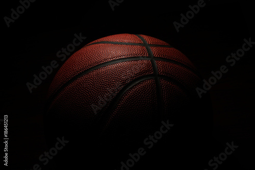 Photo  Basketball in Shadow