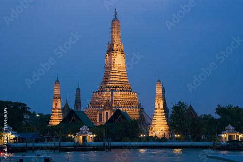 In de dag Bangkok Bangkok - Wat Arun