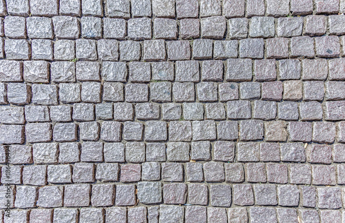 Fotomural background of cobble stones