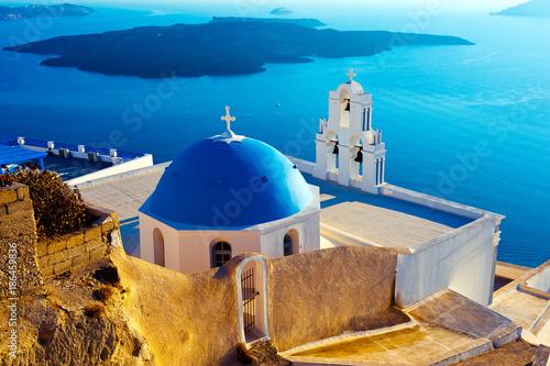 Foto op Canvas Santorini Santorini island, Greece