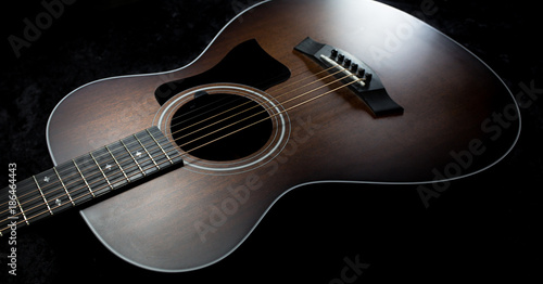 Fotografering  Acoustic Guitar - Focus on Body