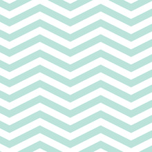 Mint Chevron Seamless Pattern....
