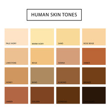 Human Skin Tone Set