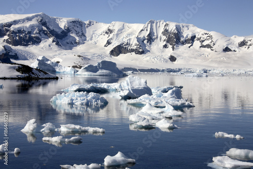 Printed kitchen splashbacks Glaciers Paradise Bay - Antarctic Peninsula - Antarctica