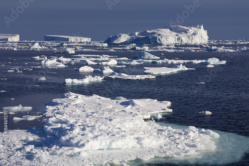 Keuken foto achterwand Antarctica Sea Ice in the Weddal Sea - Antarctica