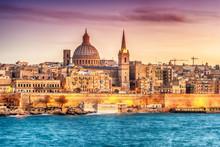 Valletta, Malta: Skyline From ...