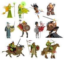 Fantasy Magical Warriors Creat...