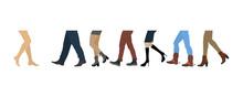 Legs Of People Group
