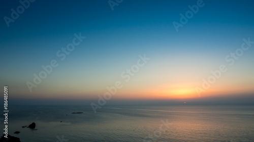 Foto auf AluDibond See sonnenuntergang OLYMPUS DIGITAL CAMERA
