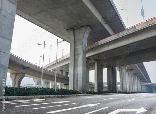 Highway overpass Wallpaper Mural