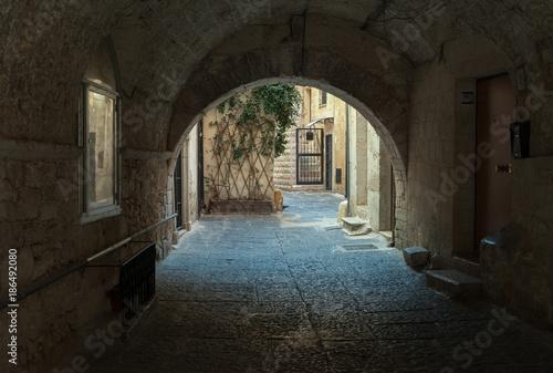 Street with an archway. © Ludmila Smite