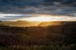 Blick ins Tal von Gamrig