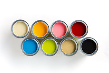 Eight Colors Of Paint