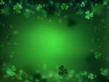 St. Patrick's Day, Green Backg...