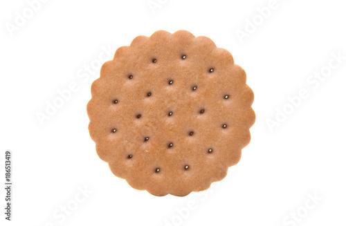 Obraz na płótnie double biscuits isolated