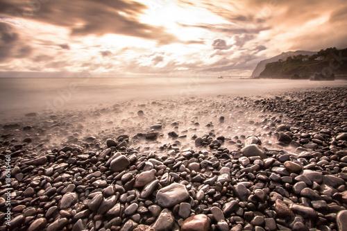 Photo  Ocean coast of Madeira
