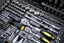 Mechanics Tool Kit In Black Box