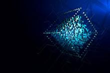 Digital Cube Background
