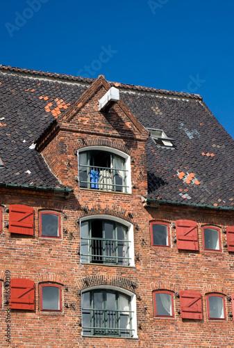 Photo  Danish warehouse