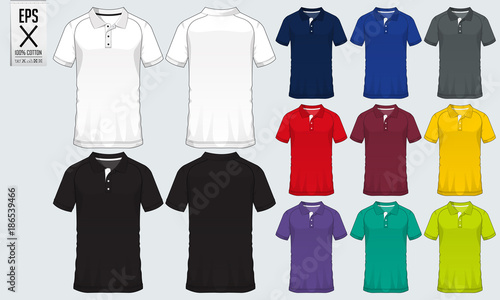 a448b1b37 Polo t shirt sport design template for soccer jersey