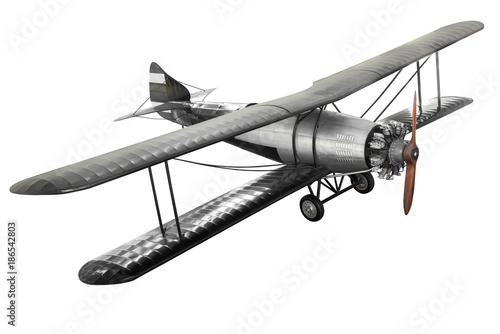 Poster Avion à Moteur Ancient fight airplane