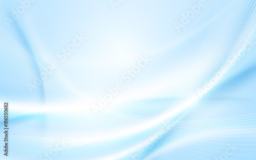 Abstract soft blue wavy with blurred light curved lines background #186550682