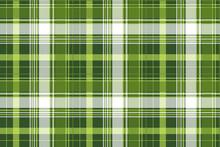 Green Tartan Pixel Check Plaid...