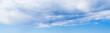 Huge cloud and blue sky