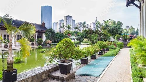 Dutch field of honor Menteng Pulo in  Jakarta, Java Island, Indo