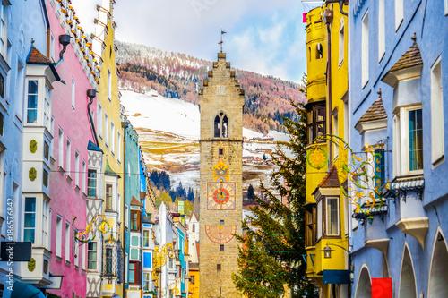 Fotografie, Obraz  Vipiteno Sterzing winter - Bolzano province - Trentino Alto Adige region - Italy