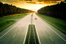 Zachód Nad Autostradą