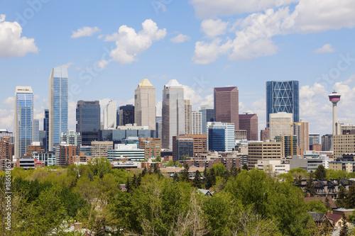 Fototapety, obrazy: Calgary - panorama of city