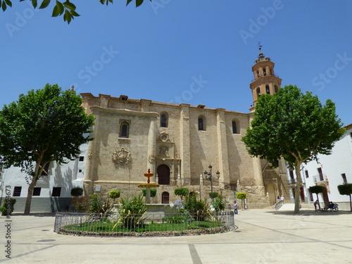 Baza es una ciudad y municipio español situado en el noreste de la provincia de Canvas Print