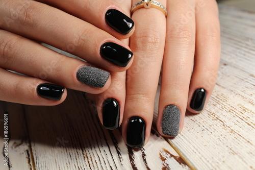 Staande foto Manicure stylish design of manicure