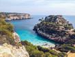 Blaues Wasser am Mittelmeer