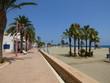 Carboneras, localidad costera de Cabo de Gata Almería (Andalucía,España)