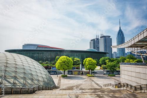 Foto op Plexiglas Indonesië modern buildings