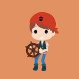 pirates kids character