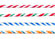 Candy Cane. Set Of Different S...