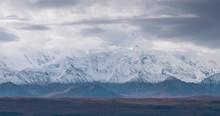 Denali Mountain Close Up Cloud...