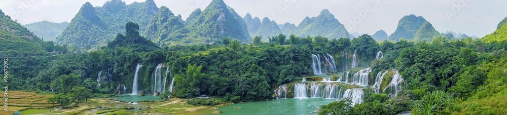 Fototapeta Landscape Waterfall
