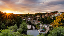 Knaresborough Viaduct From Knaresborough Castle, North Yorkshire
