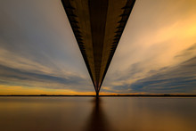 The Humber Bridge From Hessle ...