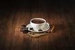 Leinwanddruck Bild Hot chocolate
