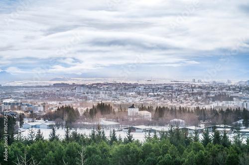 Landscape of Iceland in winter season. Canvas-taulu