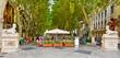 Leinwanddruck Bild - Passeig des born - Palma de Mallorca