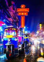 Tuk Tuk taxi in china town ...