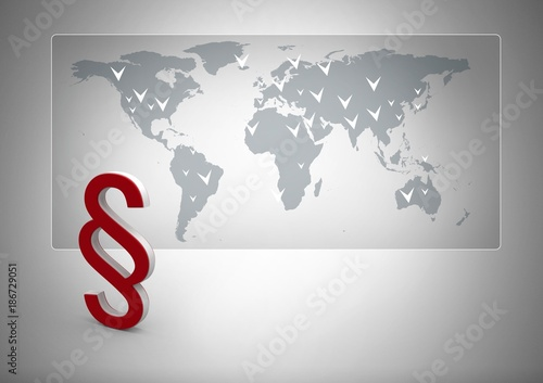 3d section symbol icon with world map buy this stock photo and 3d section symbol icon with world map gumiabroncs Choice Image