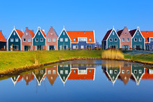 Colored Houses Of Marine  Park...