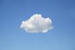 Leinwandbild Motiv Representation of cloud storage space
